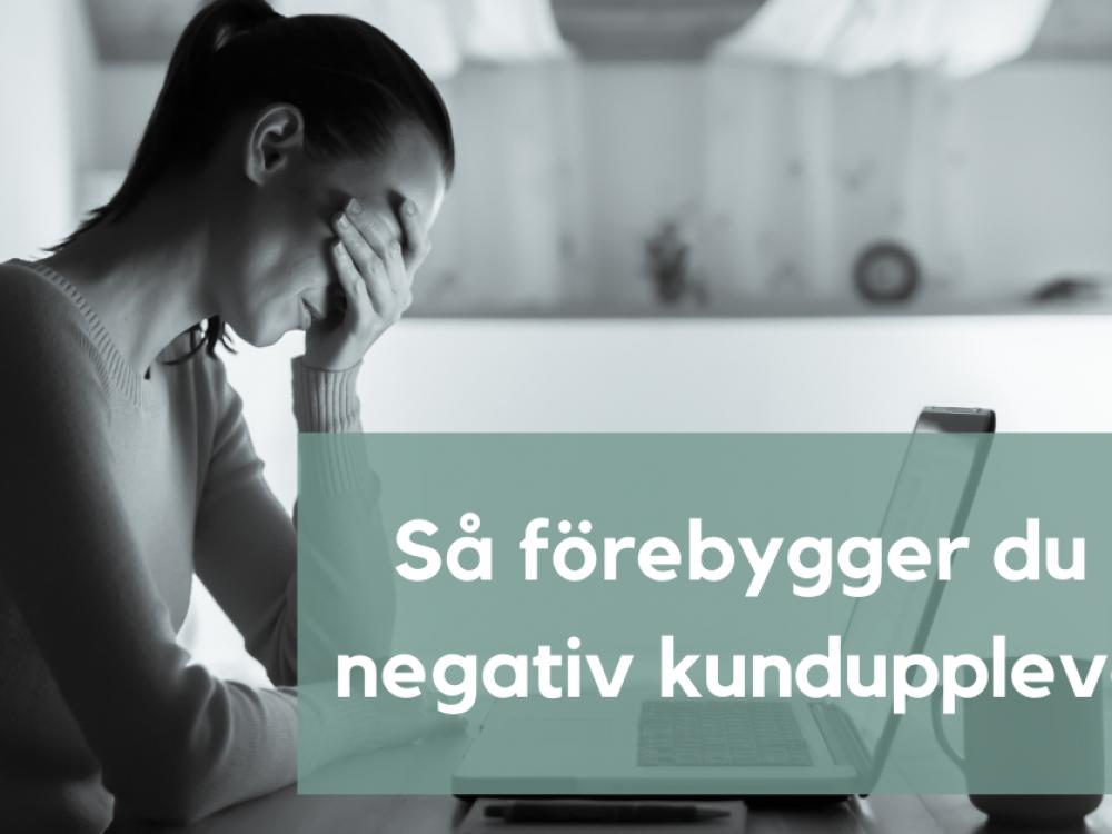 Reclaimit hjälper dig förebygga en negativ kundupplevelse.